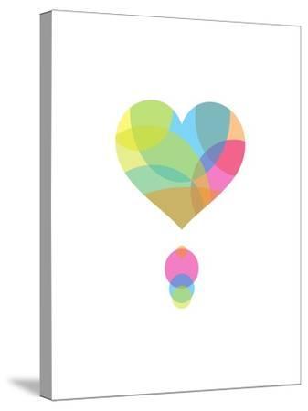 Colors of a Heart-Volkan Dalyan-Stretched Canvas Print