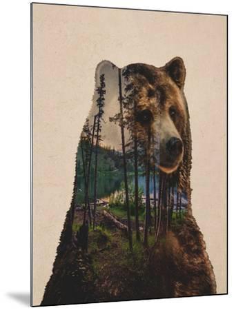 Bear Lake-Davies Babies-Mounted Art Print