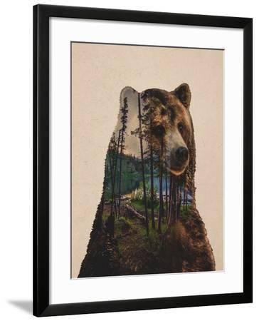 Bear Lake-Davies Babies-Framed Art Print