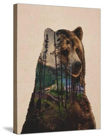 Bear Lake-Davies Babies-Stretched Canvas Print