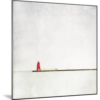 Meet Me at the Red Lighthouse-Margaret Morrissey-Mounted Photographic Print