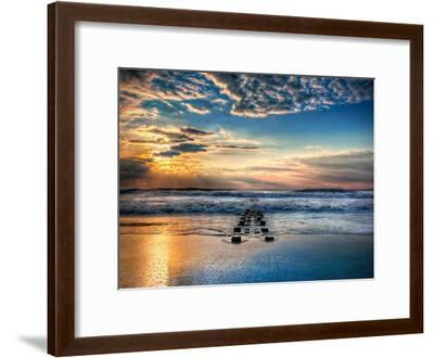 Into the Sea-Natalie Mikaels-Framed Photographic Print