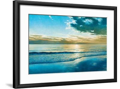 Amelia Island Dawn-Kent Sullivan-Framed Art Print