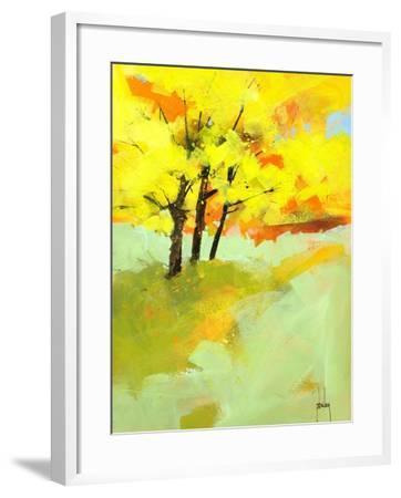 Autumn Trio-Paul Bailey-Framed Art Print