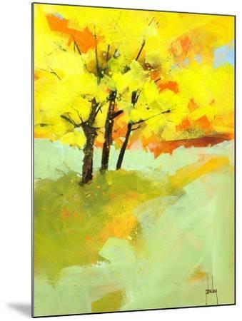 Autumn Trio-Paul Bailey-Mounted Art Print