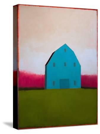 Turquoise Barn-Tracy Helgeson-Stretched Canvas Print