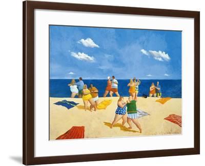 Tango Beach-Michael Paraskevas-Framed Art Print