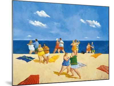 Tango Beach-Michael Paraskevas-Mounted Art Print