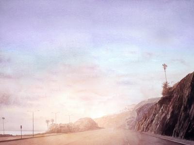 California Road Chronicles #50-Relja Penezic-Framed Art Print