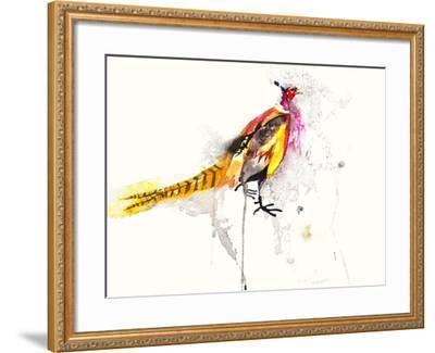 Pheasant-Karin Johannesson-Framed Art Print