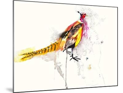 Pheasant-Karin Johannesson-Mounted Art Print