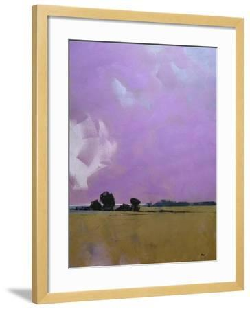 Over the Fields to the Distant Sea-Paul Bailey-Framed Art Print