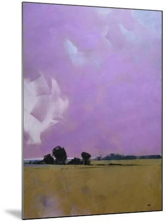 Over the Fields to the Distant Sea-Paul Bailey-Mounted Art Print