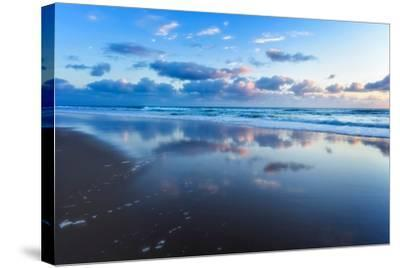 Blue Shores-Tracie Louise-Stretched Canvas Print