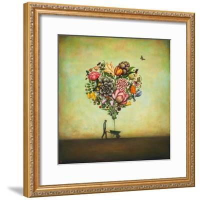 Big Heart Botany-Duy Huynh-Framed Art Print