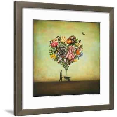 Big Heart Botany-Duy Huynh-Framed Premium Giclee Print