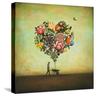 Big Heart Botany-Duy Huynh-Stretched Canvas Print