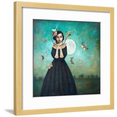 Evening Echoes-Duy Huynh-Framed Art Print