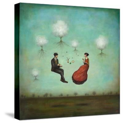 Gravitea For Two-Duy Huynh-Stretched Canvas Print