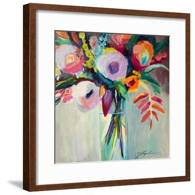 Ode to Summer 7-Jacqueline Brewer-Framed Art Print