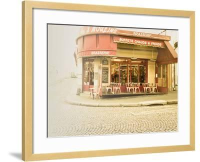 Paris Brasserie-Keri Bevan-Framed Photographic Print