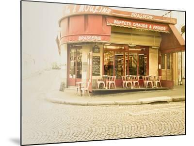 Paris Brasserie-Keri Bevan-Mounted Photographic Print