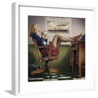 Coffee Break-Paul Kelley-Framed Art Print