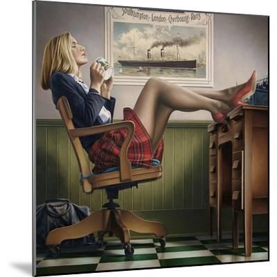 Coffee Break-Paul Kelley-Mounted Art Print