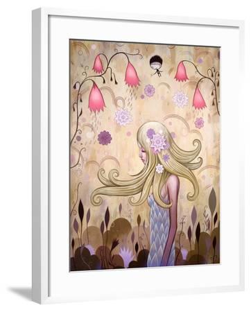 Garden of Sleeping Flowers II-Jeremiah Ketner-Framed Art Print