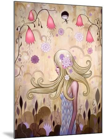 Garden of Sleeping Flowers II-Jeremiah Ketner-Mounted Art Print