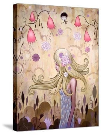 Garden of Sleeping Flowers II-Jeremiah Ketner-Stretched Canvas Print