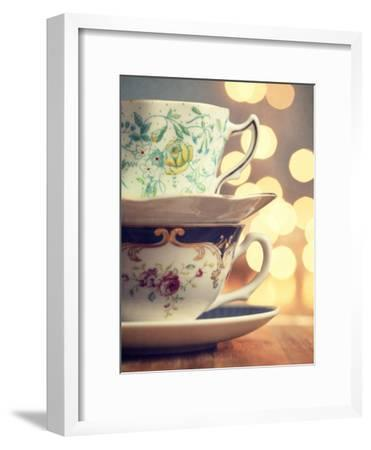 Two Cups Stacked-Amelia Kay-Framed Photographic Print