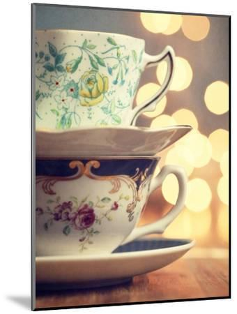 Two Cups Stacked-Amelia Kay-Mounted Photographic Print