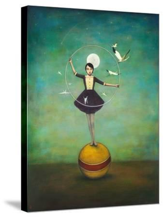 Luna's Circle-Duy Huynh-Stretched Canvas Print