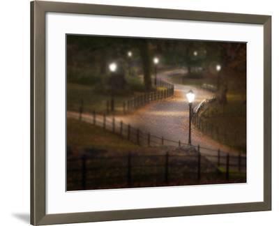 Twilight Stroll-Natalie Mikaels-Framed Photographic Print