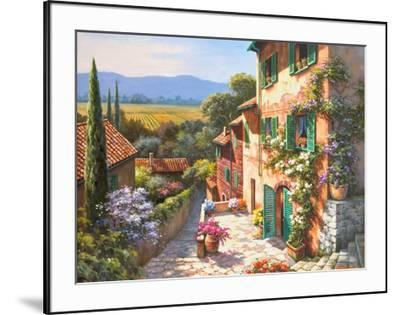 Spring in the Valley-Sung Kim-Framed Art Print
