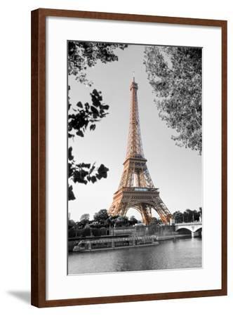 Matin sur la Seine-Alan Blaustein-Framed Photographic Print
