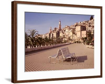 Banc de Jardin #28-Alan Blaustein-Framed Photographic Print