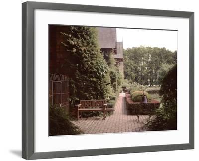 Banc de Jardin #27-Alan Blaustein-Framed Photographic Print