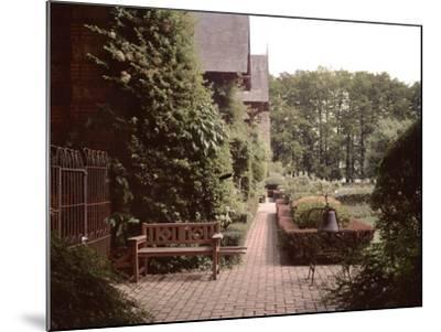 Banc de Jardin #27-Alan Blaustein-Mounted Photographic Print
