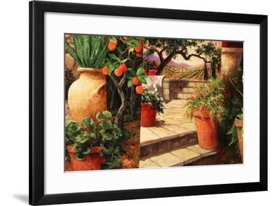 Turo Tuscan Orange-Art Fronckowiak-Framed Art Print