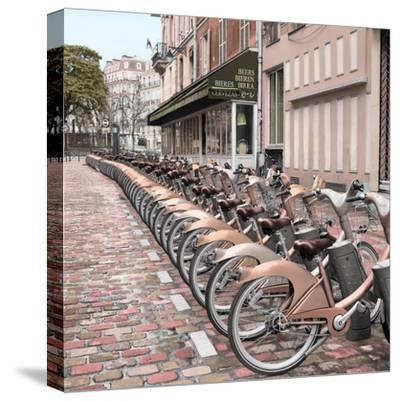 Paris City Ride #2-Alan Blaustein-Stretched Canvas Print