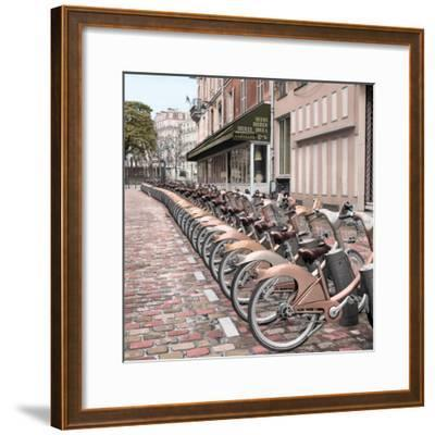 Paris City Ride #2-Alan Blaustein-Framed Photographic Print