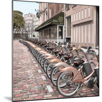 Paris City Ride #2-Alan Blaustein-Mounted Photographic Print