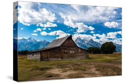 Grand Teton Barn I-Tim Oldford-Stretched Canvas Print