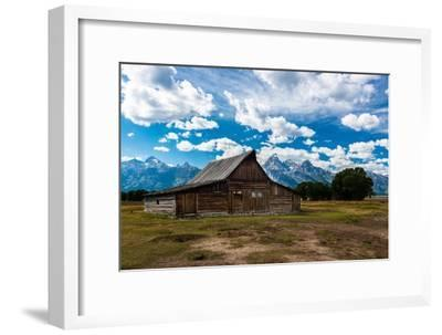 Grand Teton Barn I-Tim Oldford-Framed Photographic Print