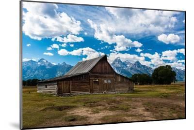 Grand Teton Barn I-Tim Oldford-Mounted Photographic Print