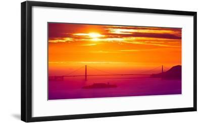The Sun Gate-Greg Linhares-Framed Photographic Print