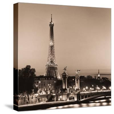 Pont Alexandre III-Alan Blaustein-Stretched Canvas Print