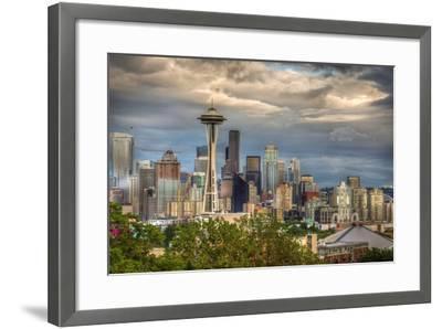 Seattle-Larry J^ Taite-Framed Photographic Print